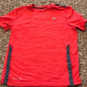 Red and grey dri-fit tee